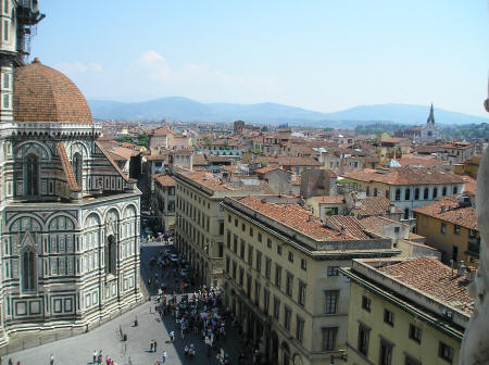 Florence Cathedra in Tuscany Italy